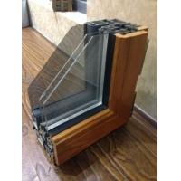 90系列铝包木门窗丨125系列金刚网一体窗
