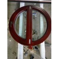 铝包木立弧窗,优美圆弧窗-识别铝包木最重要的两点