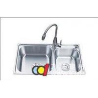 成都上派卫浴--上派不锈钢双盆水槽--sp--6003
