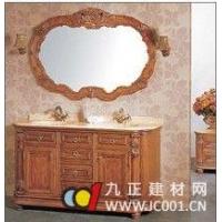 成都上派卫浴--上派实木浴室柜(金线米黄)--SP-1003