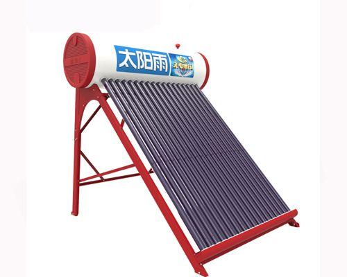 上海太阳雨太阳能热水器 无电增压
