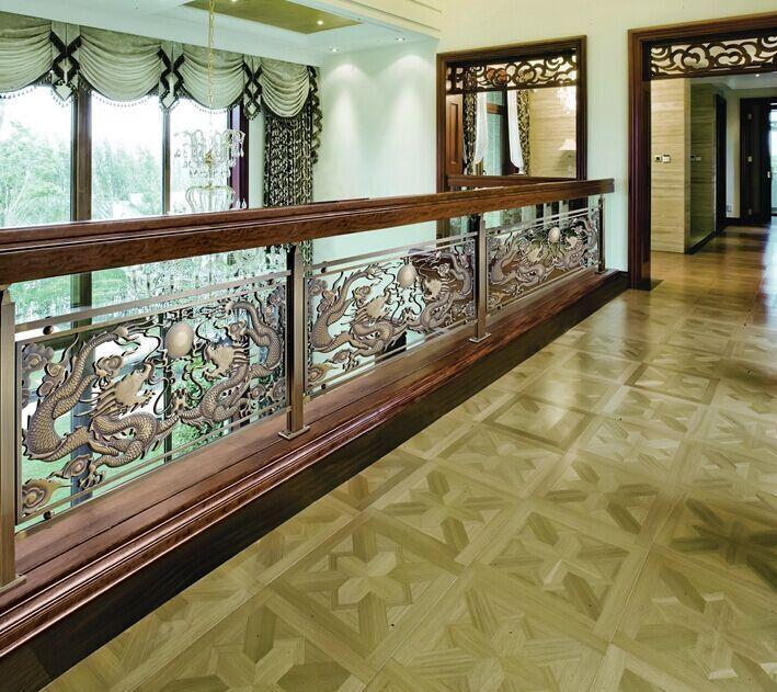 古莱斯铜铝楼梯扶手,阳台护栏,楼梯护栏,楼梯扶手木
