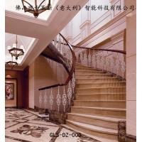 古莱斯直扭弯铜铝精雕楼梯工艺,楼梯扶手、楼梯护栏、阳台栏杆