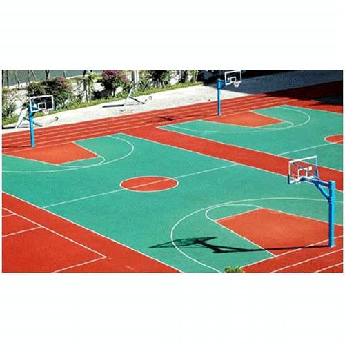 海丰-502聚氨酯(PU)球场涂装