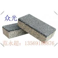 彩色透水砖 300x300mm广场透水砖选众光生态陶瓷透水砖