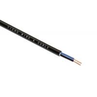 广东易初铜芯护套软电缆RVV6*0.2易初电线电源线