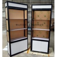 新款折叠高柜 黑色珠宝折叠柜 折叠式铝合金精品展柜