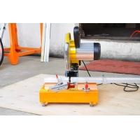 晶钢门手动铝材切割机 铝材切角机 90度45度切角机 多功能