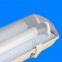 渔船LED三防灯支架阻燃耐高温单管双管1.2米LED工厂灯