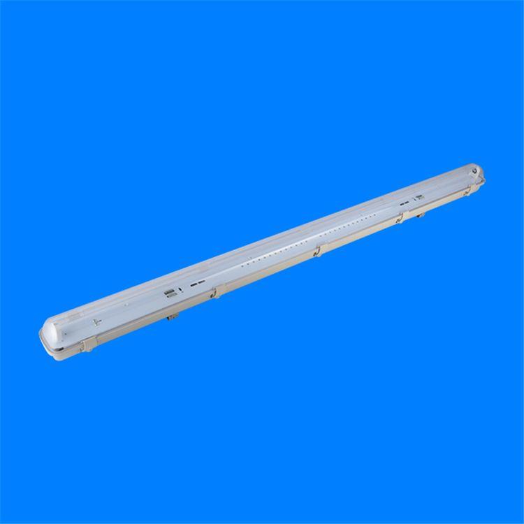 T8LED三防灯支架40w36w低价钱双管单管阻燃LED工厂