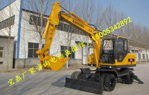 轮式挖掘机|轮式挖掘机