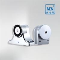 墙面式电磁门吸,型号MS3333玻璃门专用门吸,品牌明达能