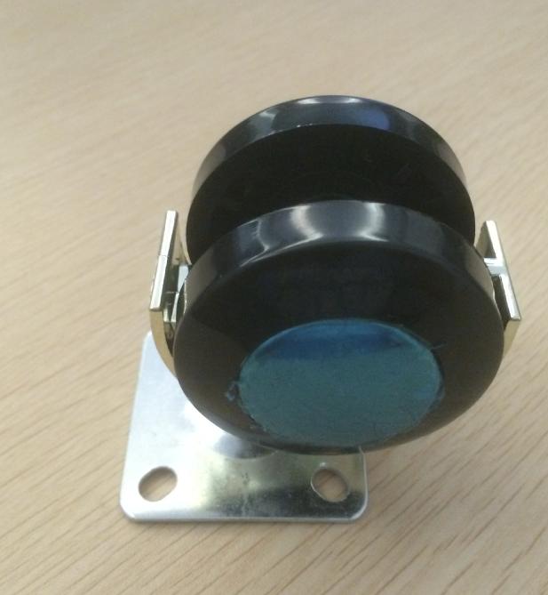 铝合金家具万向轮 静音活动万向轮 ABS塑胶轮 工业脚轮