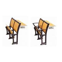 质保性价比高的学校课桌排椅,量大优惠会议写字板椅