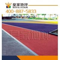 武汉道路防洪涝彩色透水地坪|高透水性路面材料铺装