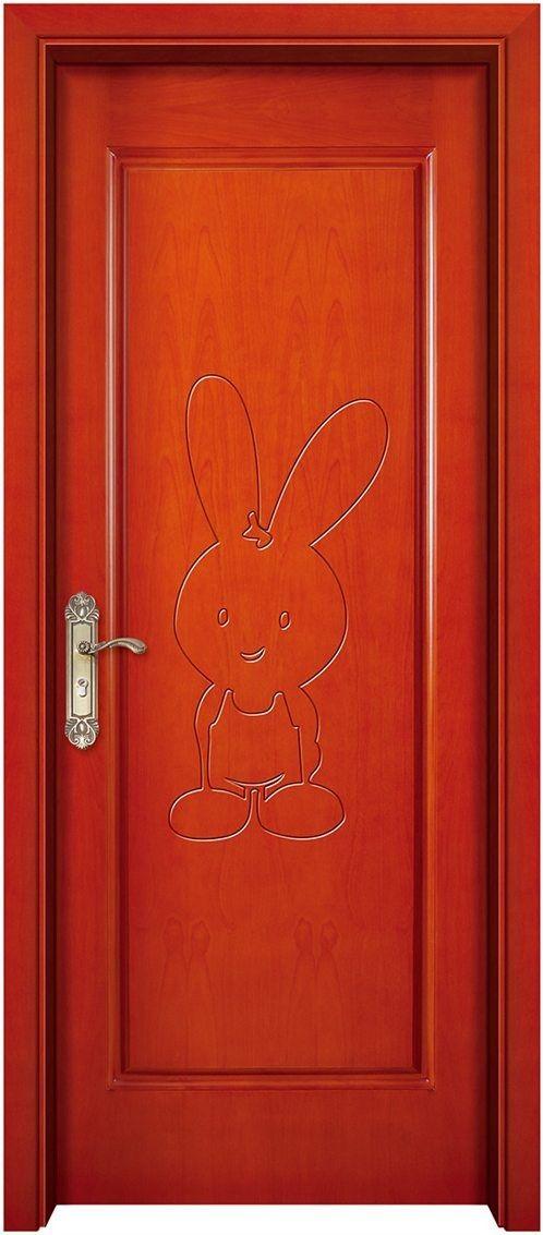 原木实木橡木池板烤漆门,复合转印平雕门双开子母门