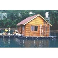公园小木屋 水上木屋 木制别墅 木制房屋