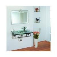 欧派卫浴-钢化玻璃台盆系列-玻璃台盆