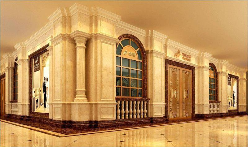 金茂大厦88观光厅墙壁装饰石材