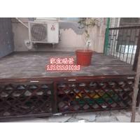 天津防腐木围栏亭子地板碳化木