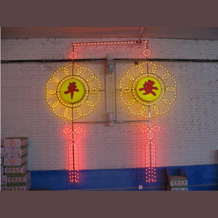 户外亮化装饰 灯杆造型灯 led中国结灯杆造型灯 led路灯