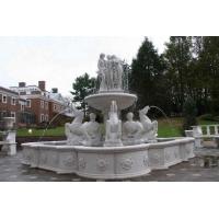 供应惠安石雕喷泉喷水池欧式喷泉雕塑风水球喷泉