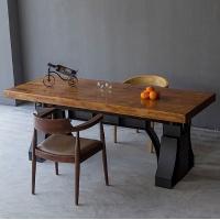 复古铁艺餐桌酒吧咖啡厅桌椅组合创意办公桌