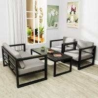 铁艺沙发工作室沙发服装店沙发会客沙发组合