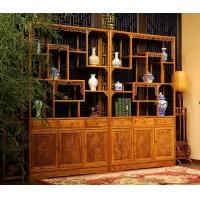 成都仿古中式茶楼实木家具
