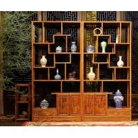 仿古中式茶楼实木家具成都