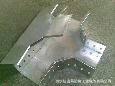 热镀锌钢制桥架水平弯通200*100
