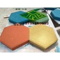 环保六角砖、实心六棱广场砖、六边形护坡砖
