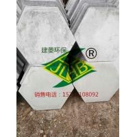 郑州光面实心六角护坡砖、水泥灰色倒模六棱砖
