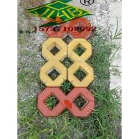 混凝土8字形植草砖400x200x80郑州砖厂