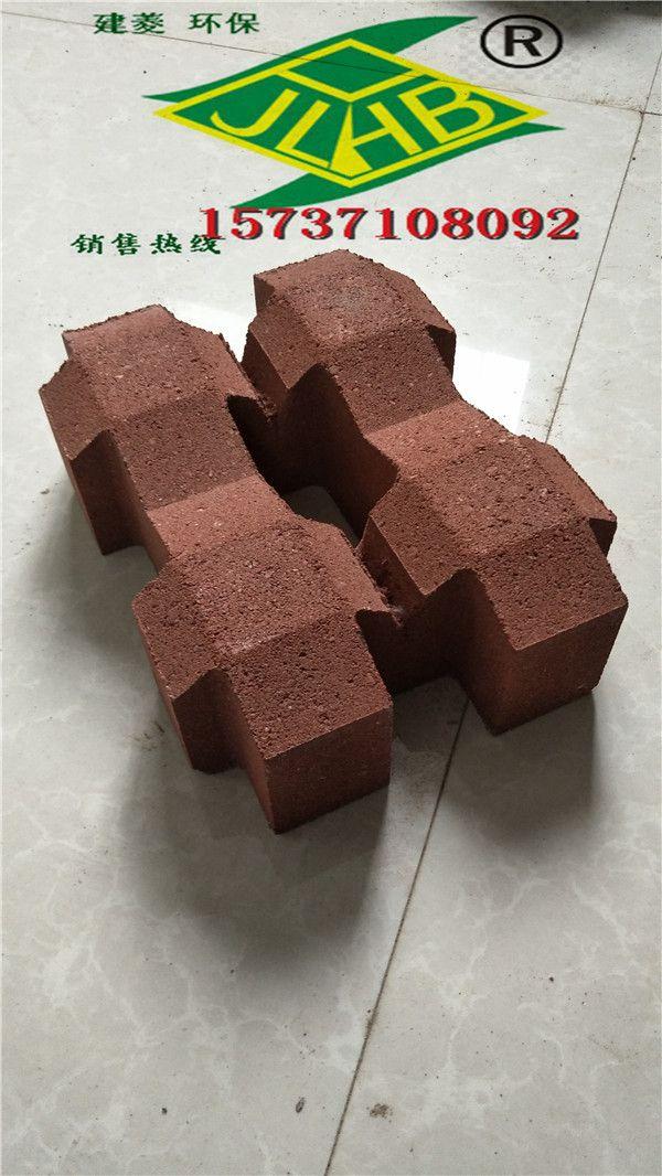 郑州建菱通体井字形25x19x7植草砖价格厂家直销