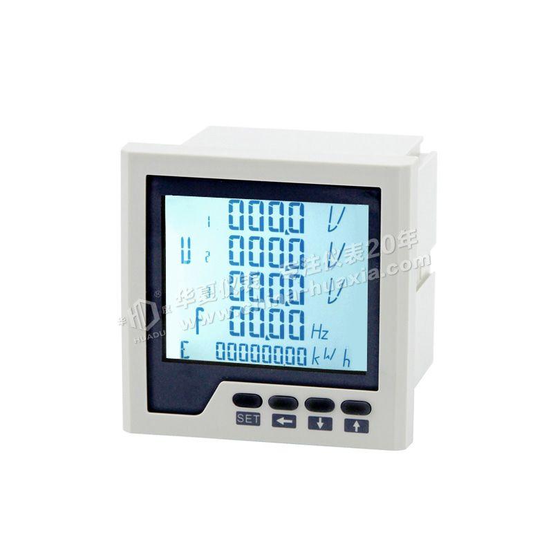 三相多功能电力仪表 LCD显示图片