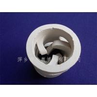 供应陶瓷鲍尔环 38mm陶瓷鲍尔环填料 陶瓷鲍尔环塔填料