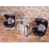 loFt风格航空铝皮箱老湿影院48试沙发边柜边桌边几角几柜