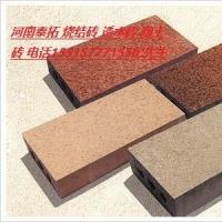 河南烧结砖广场砖政府工程信的过的厂家泰拓科技建材信誉有保障