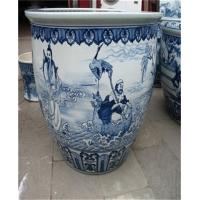 供应景德镇青花陶瓷缸