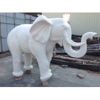 广州番禺仿汉白玉砂岩大象雕塑