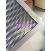 各种规格定制铝基蜂窝光触媒过滤网UV光解纳米二氧化钛光催化网