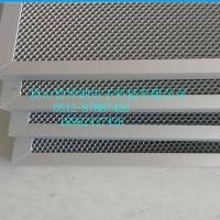 光触媒过滤网/光触媒过滤棉/二氧化钛用光触媒铝基网/光触媒材