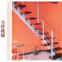 南京钢木楼梯-南京轩步楼梯-钢木楼梯