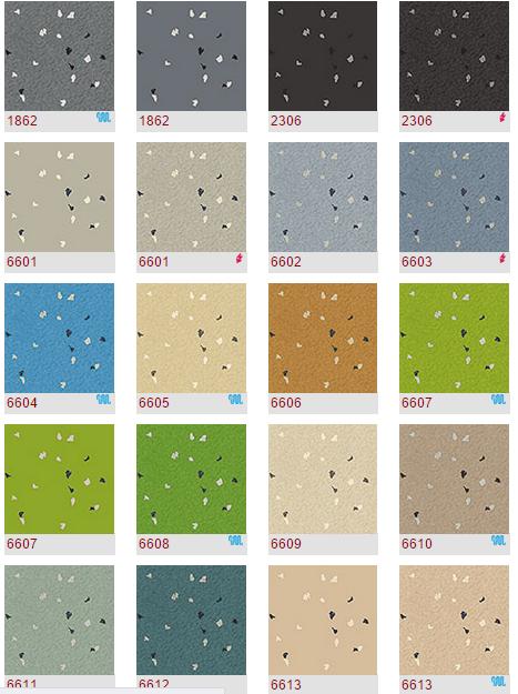 诺拉盟多等品牌橡胶地板卷材片材商用橡胶地板