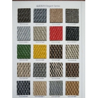 供应pvc编织纹卷材满铺地毯圆丝扁丝平丝系列