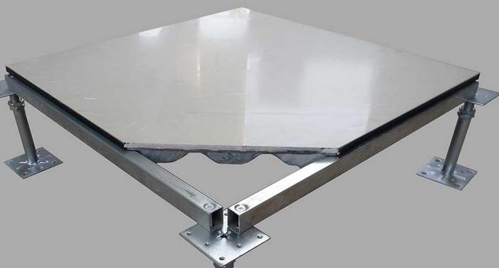 供应陶瓷贴面全钢架空防静电地板
