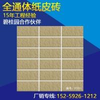 磁砖外墙 真通体纸皮外墙砖 45*95