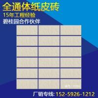 白色纸皮砖 真通体贴纸外墙砖 45*95  乐呵呵陶瓷厂