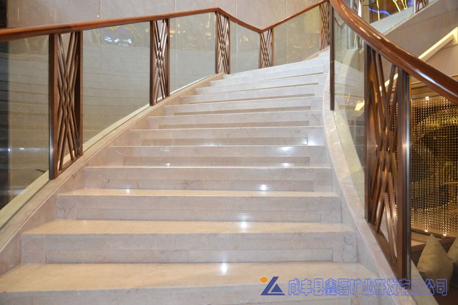专业生产加工销售工装酒店楼梯踏步石材